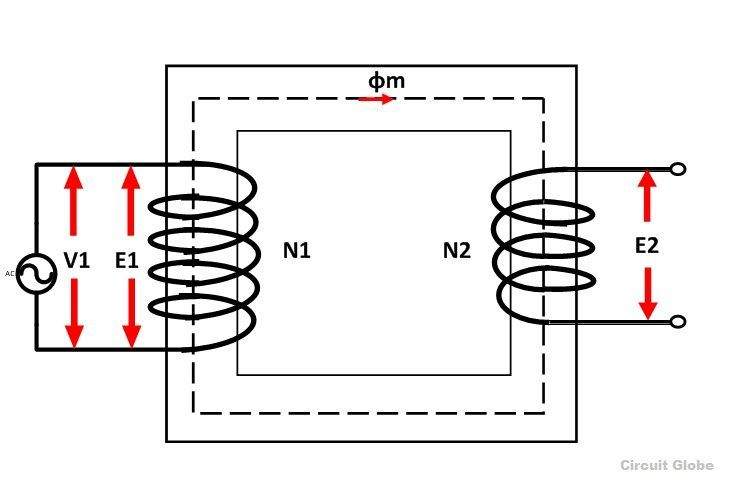 transformer works electrical diagram