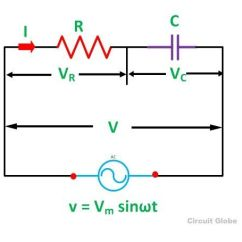 How To Draw Phasor Diagram Of Transformer 2001 Isuzu Trooper Radio Wiring What Is Rc Series Circuit? And Power Curve - Circuit Globe