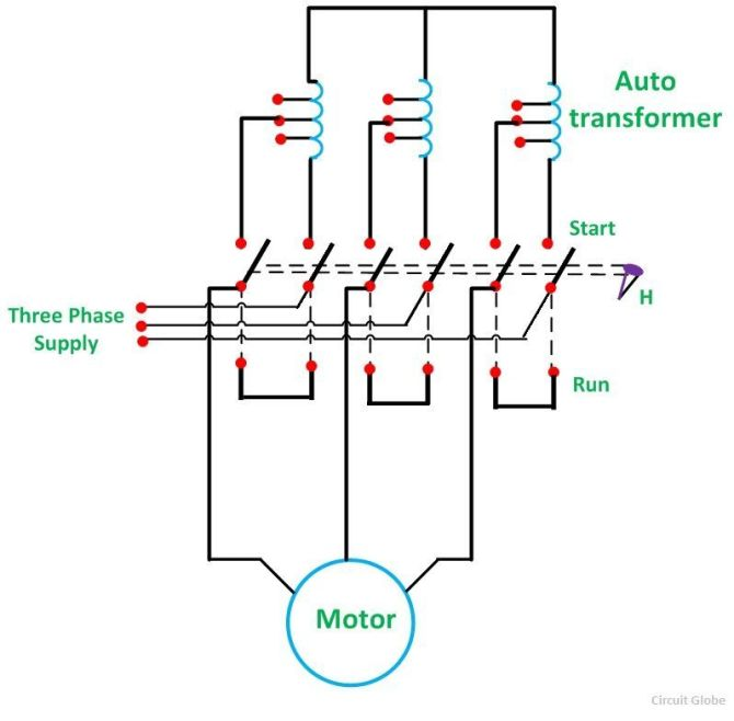 dol starter wiring diagram starting characteristics on