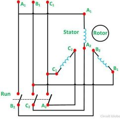 Wiring Diagram Of Wye Delta Motor Control Simple Dna Replication What Is Star Starter? - Its Theory Circuit Globe