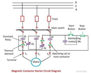 Induction Motor Protection System  Circuit Diagram & Working  Circuit Globe