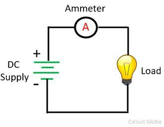 Ampere meter circuit diagram