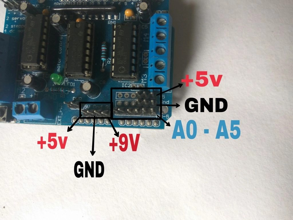 Making of a Simple Line Follower Robot with Arduino step 5