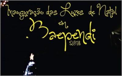 Inauguração das Luzes de Natal – Baependi