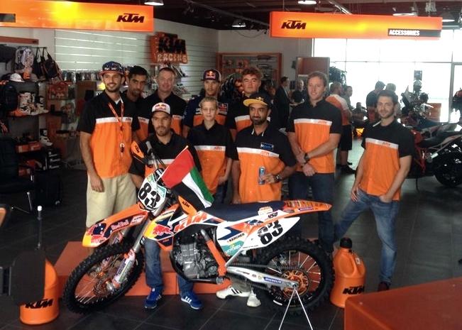 Dubai: KTM Unveils UAE racing team for new season