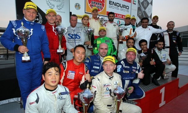 UAE: Lechner Racing duo score NGK Endurance win at Dubai Autodrome