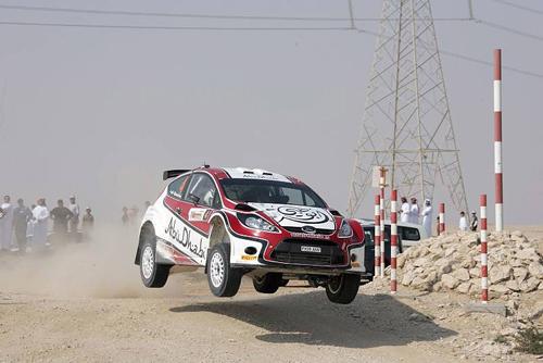 ABU DHABI RALLY ACES SET FOR THRILLING DESERT DUET