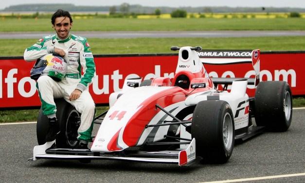 Saudi Arabia's HH Prince Abdulaziz Al Faisal enjoys run in F2 car