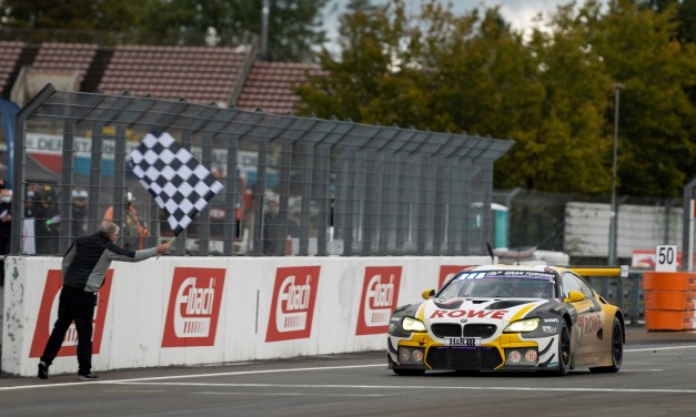 24H: Rowe Racing gives BMW anniversary win after 9.5h red flag for rain at the Nürburgring
