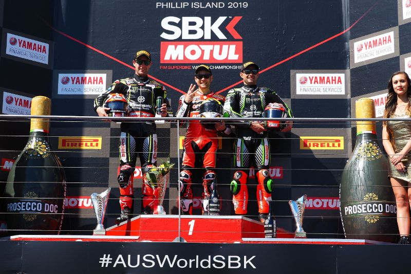 WSBK: ARUBA.IT Racing Ducati rider Bautista secures hat trick of victories in dream WorldSBK debut