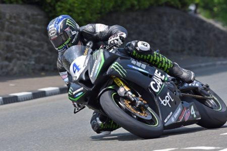 Ian Hutchinson in action