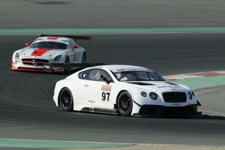 Bentley driver Michael Ammermueller leadsin NGK race 2