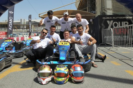 Dubai Falcon Racing Team flying high after 600 laps