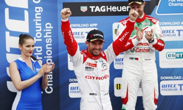 WTCC: Slovakia Ring sees Citroen take honors in the main race of the day