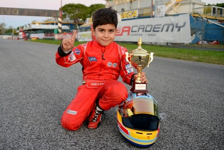 The Italian job complete with more silverware for young Rashid