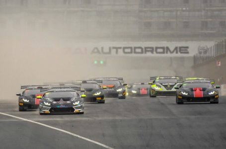 The Huracán Super Trofeos will race on the Grand Prix layout of the Dubai Autodrome