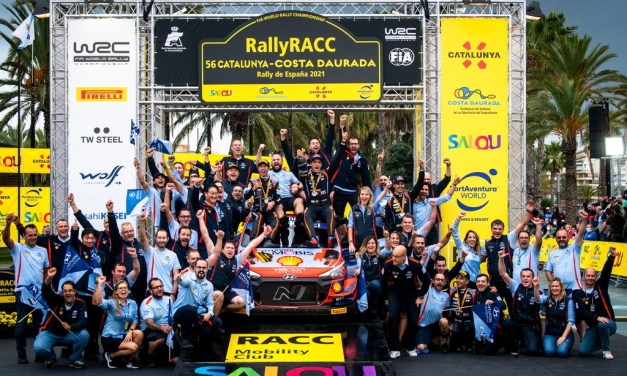 WRC: Rally Spain dominated by Belgian Neuville and his Hyundai i20