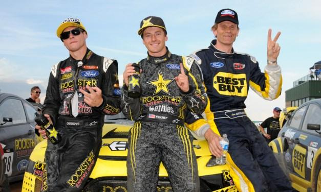 Rallycross:Ford Fiesta sweeps podium at Global Pikes Peak Super Rally