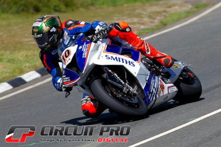 Peter Hickman would push Dunlop all the way to the finish but had to settle for second spot on the podium