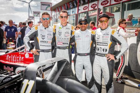 Amro with the Bas Koeten drivers