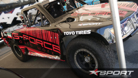 600HP Stadium Supe Trucks are specially built for the series by Robbie Gordon -Image LexAkehurst