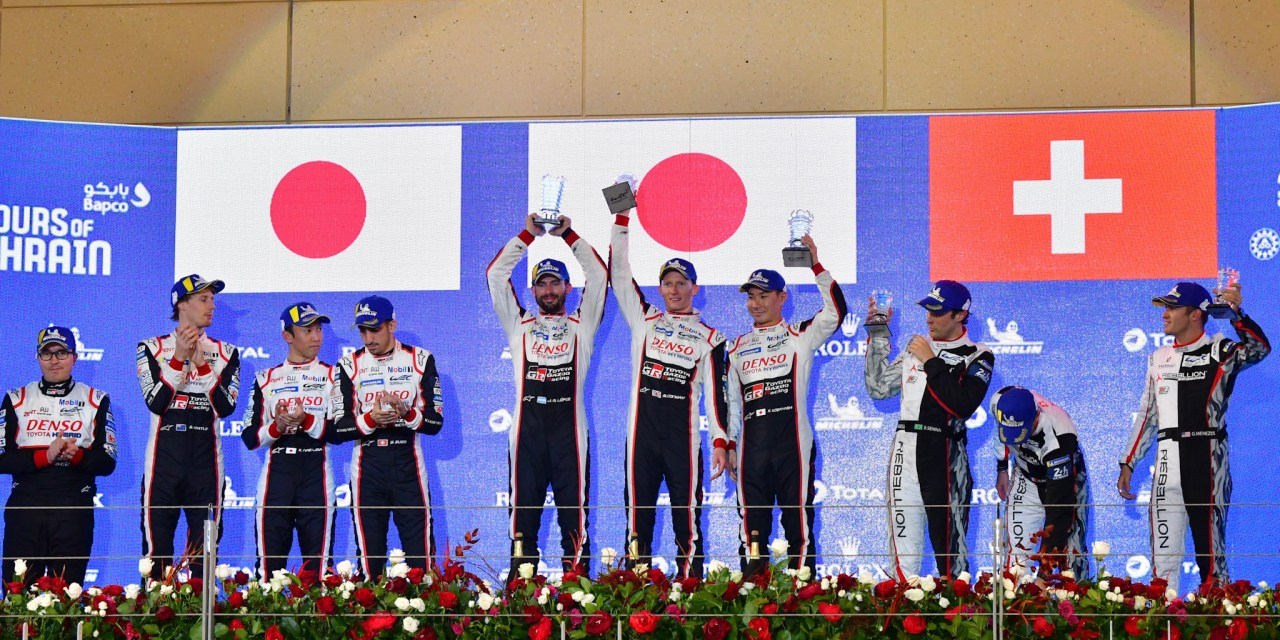 WEC: Toyota Gazoo Racing claim superb one-two in FIA WEC Bapco 8 Hours of Bahrain