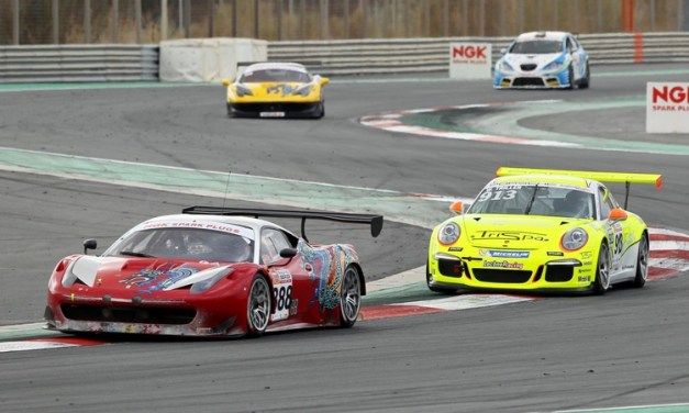 Dubai: Triller takes victory in NGK Racing Series at Dubai Autodrome