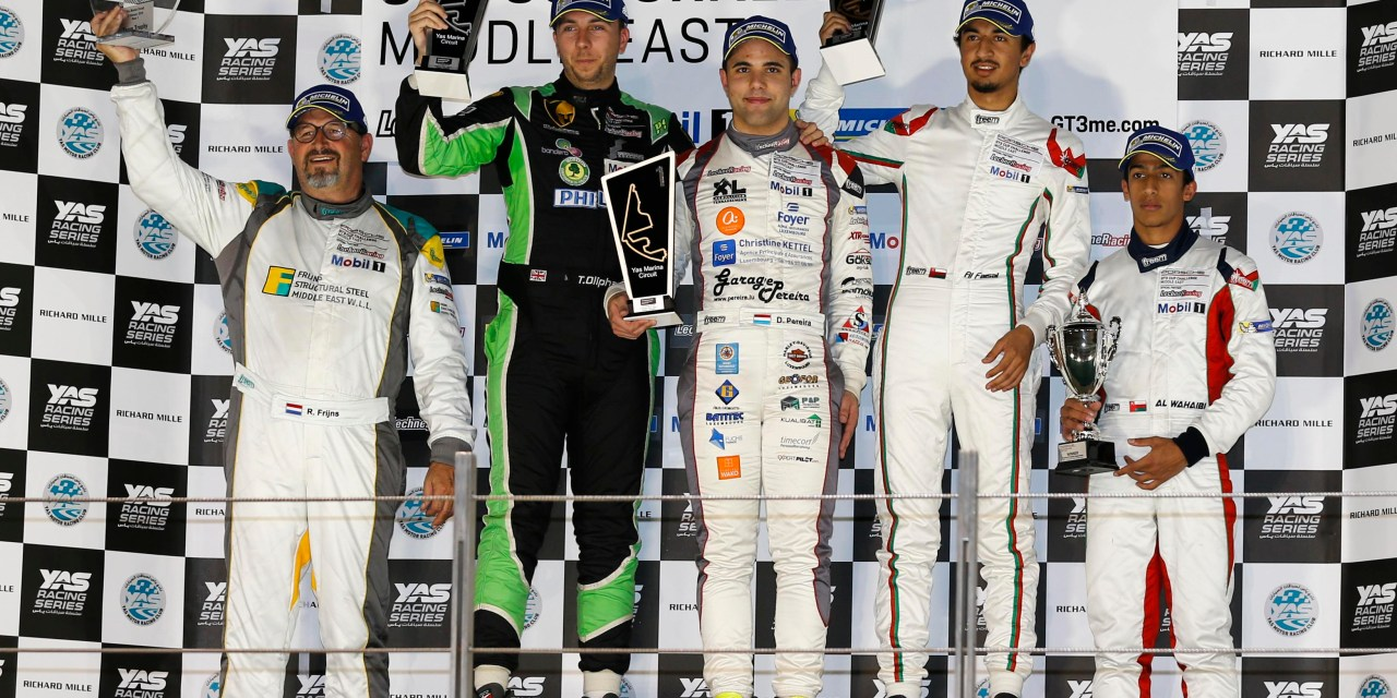 Abu Dhabi: Pereira secures win and record lap time at Yas Marina Circuit in Porsche GT3 Cup Challenge Middle East