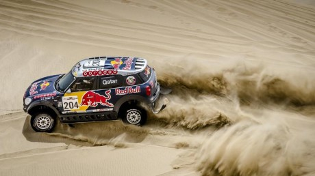 Al-Attiyah lost time on the day's special with three flat tyres, but he found a competitive pace in between and reached Sealine with the third quickest time. This ensures that the Qatari will start the final stage on Friday with a lead of 16min 36sec in the car category,