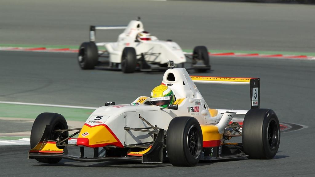 Formula Gulf 1000: Teen sensation Nick Canal shines at Dubai Motorsports Festival