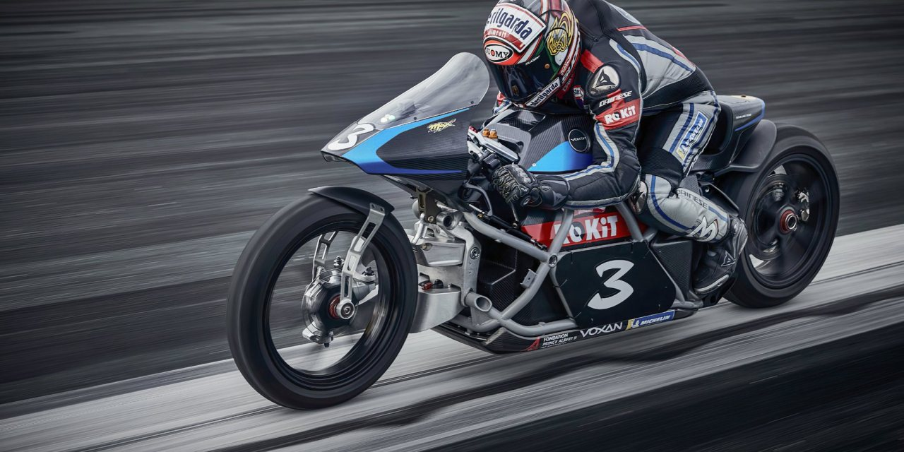 Electric: Max Biaggi breaks 11 World Records with Voxan Wattman electric motorcycles