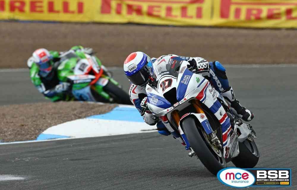 BSB: Mossey leads the way from Shakey after dramatic opening free practice at Knockhill