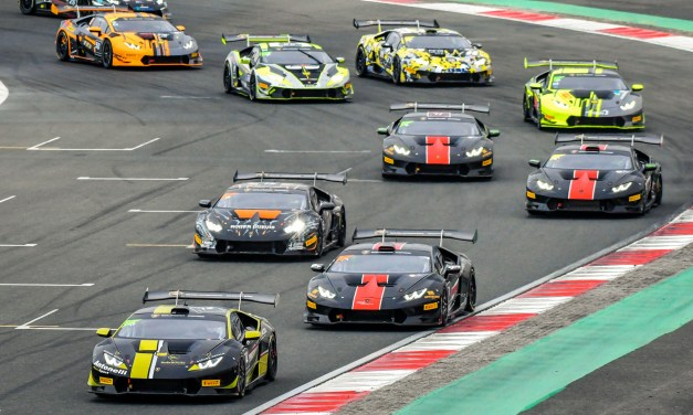 Dubai: Breukers and Jefferies lead Lamborghini Super Trofeo Middle East series after round two