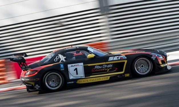 UAE: Abu Dhabi Black Falcon team fall short of victory at Gulf 12hr by 3 seconds