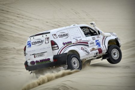 The QMMF will run a National Baja in conunction with the Qatar Cross-Country