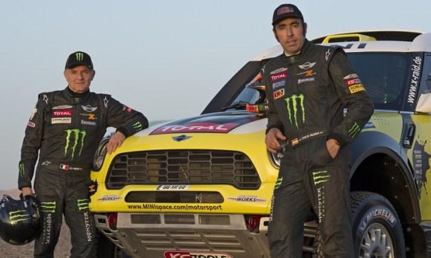 Rally: Monster Energy X-raid Team extends deal with Roma and Périn