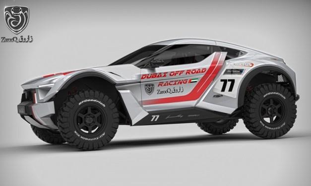 UAE: Zarooq Motors unveil details on the new V6 SandRacer to be built in UAE