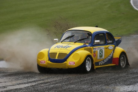 John Button was a leading protagonist in the 1970s and '80s, finishing as runner-up in both the British Rallycross Championship and Lydden Hill Rallycross Championship in 1976 in a Volkswagen Beetle...
