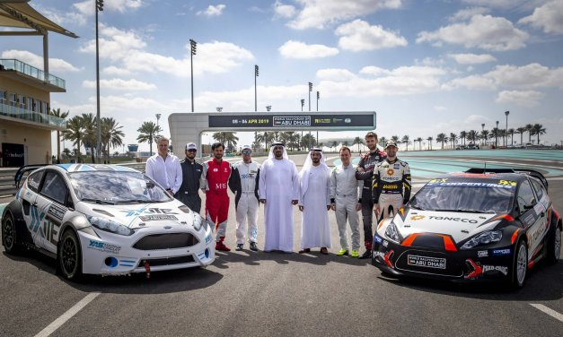 Abu Dhabi: Yas Marina Circuit reveals track layout for the opening round of the FIA World Rallycross Championship