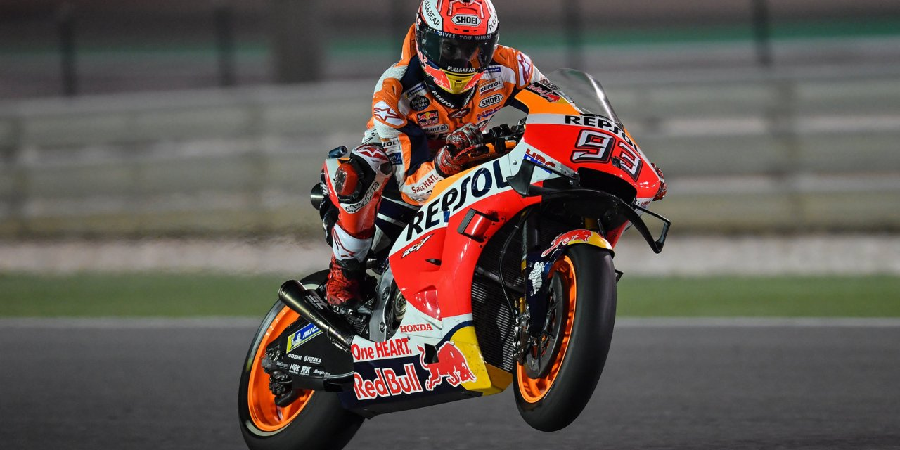 MotoGP: Fierce competition and fastest laps: the stage is set on opening day in Qatar