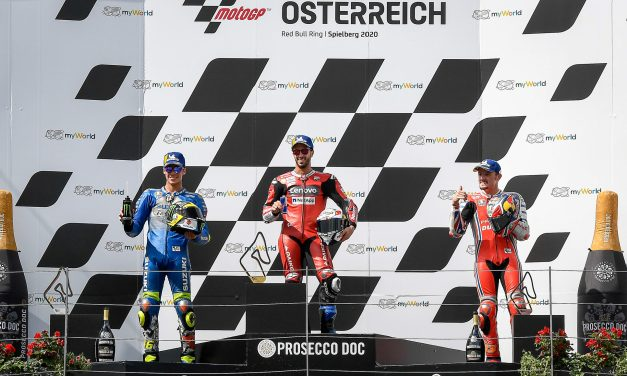 MotoGP: Dovizioso victorious amidst huge drama at the Red Bull Ring