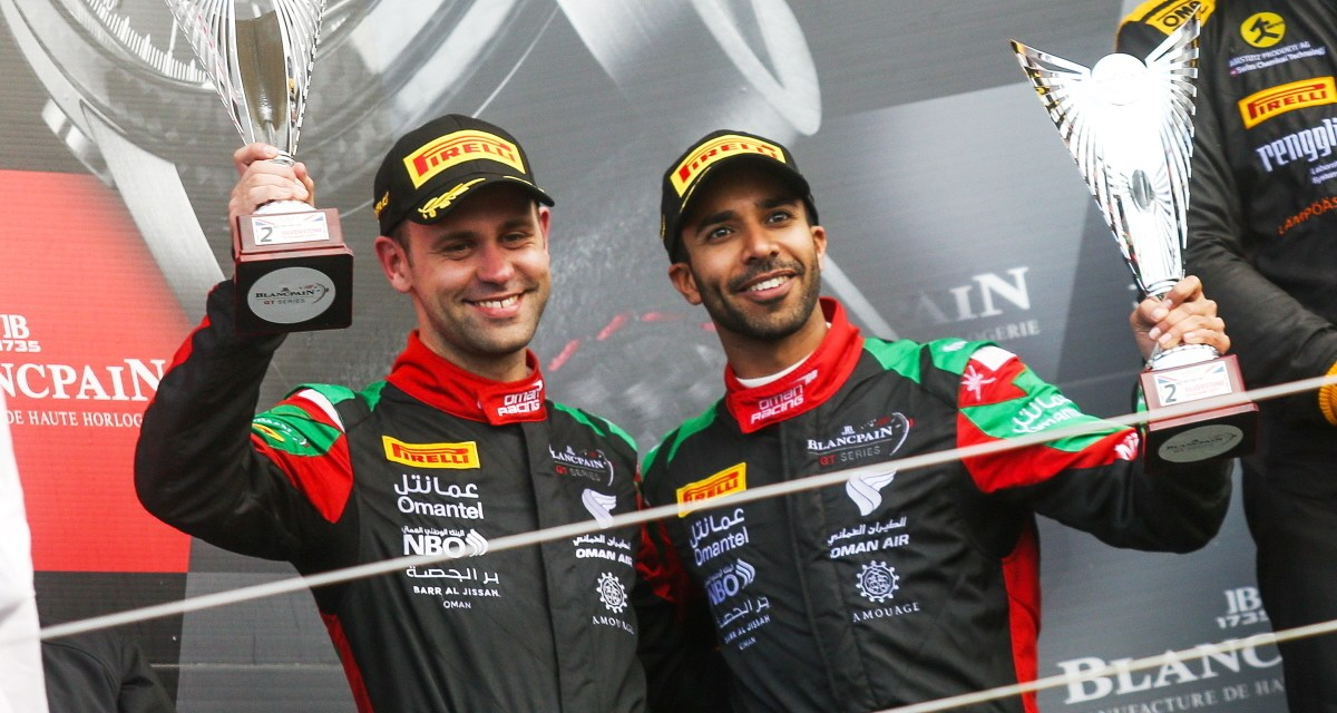 GT: Al Harthy retains Pro-Am points lead after podium result at Silverstone