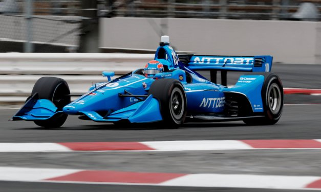 IndyCar: Jones' promising Portland pace undone by opening lap misfortune in dramatic crash between two other drivers