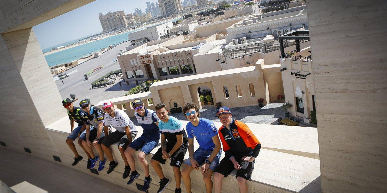 MotoGP: Riders visit Katara Cultural Village ahead of Qatar GP