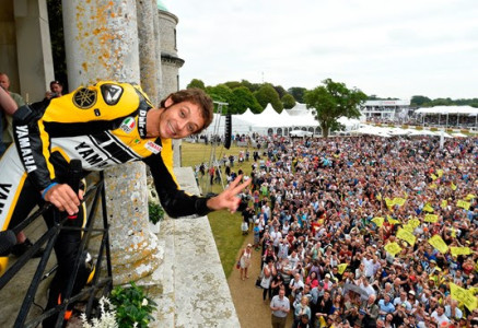 Rossi at Goodwood House