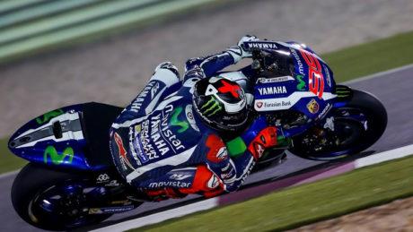 Jorge Lorenzo in Qatar