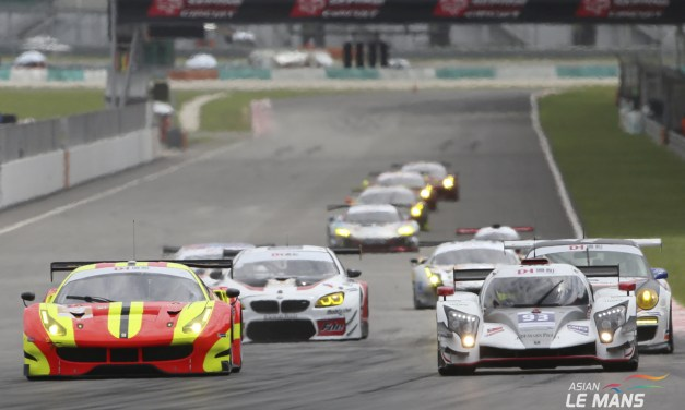 Asia: Revised three event calendar for Asian Le Mans Sprint Cup to include GT3 cars
