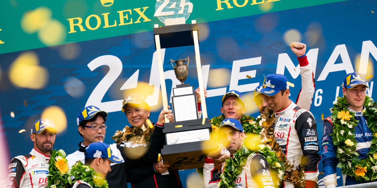 Le Mans: Toyota celebrate dream WEC Super Season with a 1-2 finish at Le Mans