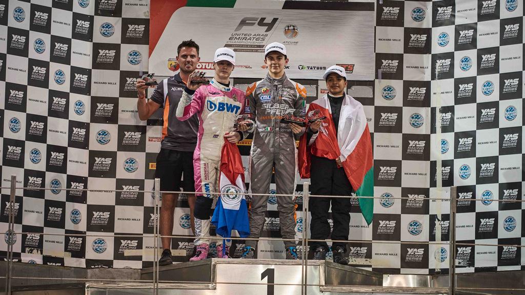 F4 UAE: Title contenders emerge in Abu Dhabi as multiple race winners crowned
