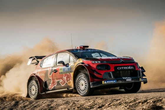 WRC: Citroen pairing Ogier & Ingrassia on top in Rally Mexico